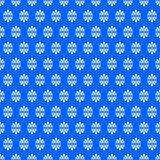 Ditzy Fan Flowers Blue Seamless Texture Royalty Free Stock Photography
