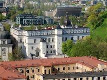 diuków wielki Lithuania pałac zdjęcia royalty free