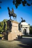 Diuk Wellington łuk w Londyn i statua Obraz Stock