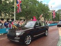 diuka Edinburgh królowa Zdjęcia Royalty Free