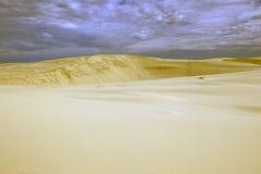 diun horyzontu kosa kurshskaya Russia piasek kroczy rozciąganie Obrazy Royalty Free