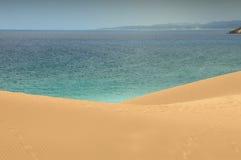 Diuny i morze Zdjęcie Royalty Free