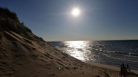 Diuny plaża fotografia royalty free