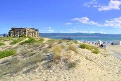 Diuny plaża Zdjęcia Stock