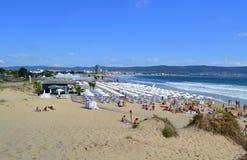 Diuny plaża Obrazy Stock
