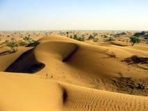 Diuny w erga Chebbi pustyni Obrazy Stock