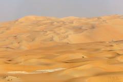 Diuny w Liwa oazie, UAE Zdjęcia Stock