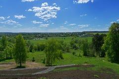 Diutkovo village Royalty Free Stock Photo