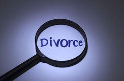 divórcio Fotografia de Stock Royalty Free
