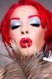 Diva Freaky Imagem de Stock
