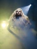 Diva in rook Royalty-vrije Stock Afbeeldingen