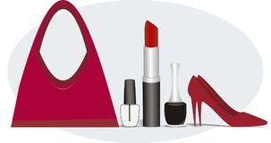 Diva stuff stock illustration