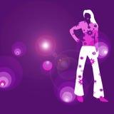 Diva van de disco Stock Afbeeldingen