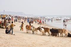 divali торжества пляжа Стоковое Изображение RF