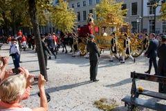 Divan d'or d'Alexandre le roi de la famille néerlandaise de frère Photo libre de droits