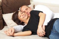 divan de refroidissement Photos stock