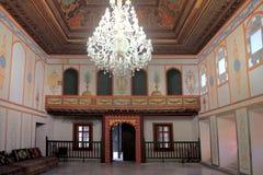 Divan hall in Khan's Palace in Bakhchisaray town (Crimea) Stock Photos