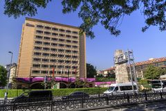 Divan Hotel, Taksim, Istanbul Stockfoto