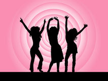 Divas de disco Image libre de droits