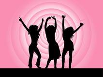 Divas do disco Imagem de Stock Royalty Free