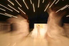 Divas et taches floues de danse de pacy Images stock
