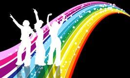 Divas van de disco Stock Foto