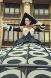 Divas, van het B-Pasvorm het Internationale Festival Straattheater, Buchares Royalty-vrije Stock Afbeeldingen