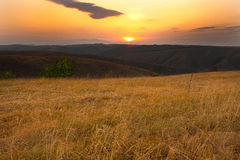Divcibare sunrise Royalty Free Stock Image