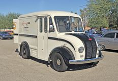 DIVCO Dairy Delivery Truck royalty free stock photos