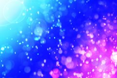 Dive Aqua vivid blue bokeh abstract background. For summer festival stock photo