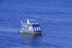Dive Boat in the Red Sea Stock Photo