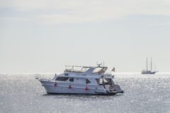 Dive boat Rixos Divers in the Red Sea Royalty Free Stock Image