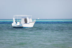 Dive boat in the sea Royalty Free Stock Image