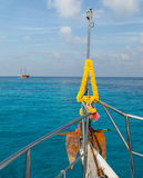 Dive boat at similian Islands Stock Photography