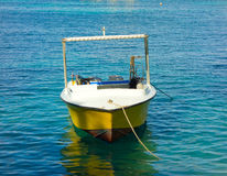 A dive boat in the windward islands Royalty Free Stock Photo
