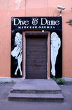Dive & Dame. GATCHINA, RUSSIA, JUNE 28, 2015 - Women's clothing store Dive & Dame in Gatchina, Russia stock photo
