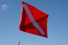 Dive Flag Stock Afbeeldingen