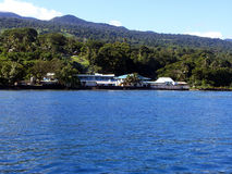 Dive resort on Taveuni. The only dive resort on Taveuni next to the water Stock Image