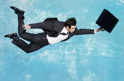 Dive right in Royalty Free Stock Photography