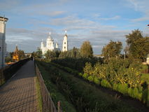 Diveevo-Dorf Lizenzfreies Stockfoto