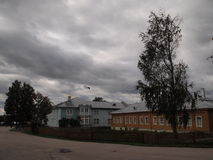 Diveevo-Dorf Stockfoto