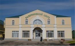 Diveevo Monastero della st Serafino di Sarov centro del pellegrino Fotografie Stock Libere da Diritti