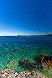 Diver at Bruce Peninsula Royalty Free Stock Photo
