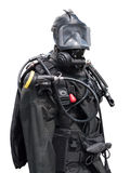 Diver Suit. A divers suit as modeled by a mannequin Stock Image