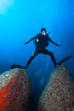 Diver Stock Image