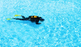 Diver Training Royalty Free Stock Image