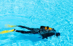 Diver Training Stock Photos