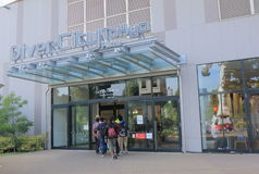 Divercity Tokyo plaza shopping mall Odaiba Stock Photos