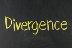 DIVERGENCE Royalty Free Stock Image