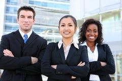 Divers Aantrekkelijk Commercieel Team Royalty-vrije Stock Afbeeldingen